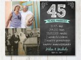 45th Birthday Gifts for Husband 45th Anniversary Gift for Wife Husband or Best Friends 45th