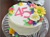 45th Birthday Party Decorations Darlene 39 S 45th Birthday Cake Cakecentral Com