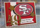 49ers Birthday Card 49er Birthday Card Www Ablogcalledwanda Com Card for My