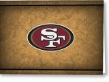 49ers Birthday Card San Francisco 49ers Greeting Cards Fine Art America