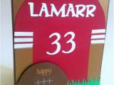 49ers Happy Birthday Card Birthday Card Custom Reserved for Jenell B by Palmettopeaches