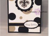 49ers Happy Birthday Card Great for Any New orleans Saints Fan Birthday Card the O