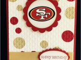 49ers Happy Birthday Card Great for Any San Francisco 49ers Fan