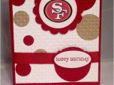 49ers Happy Birthday Card Great for Any San Francisco 49ers Fan This by