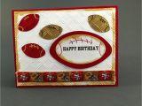 49ers Happy Birthday Card San Francisco 49ers Cardsan Francisco 49ers Birthday