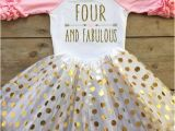 4th Birthday Girl Outfits 4th Birthday Outfit for Girl Fourth Birthday by Bowtiespearls