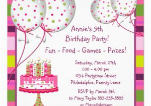 4th Birthday Party Invitation Wording Drevio Invitations