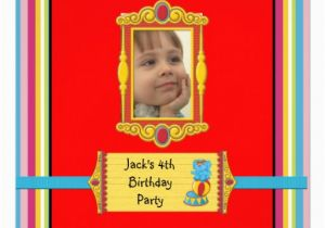 4th Birthday Party Invitation Wording Best Photos Of Samples 3