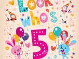 5 Year Old Birthday Card Messages Awosme 5th Birthday Wishes 2016 Birthday Wishes Zone