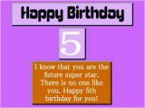 5 Year Old Birthday Card Messages Best 5th Birthday Wishes Collections Hubpages