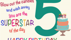 5 Year Old Birthday Card Messages Fantastic Five Year Old Free for Kids Ecards Greeting