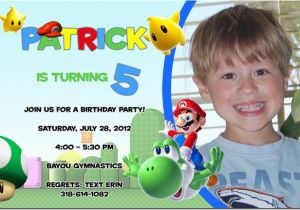 5 Year Old Birthday Invitation Template 6