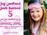 5 Year Old Birthday Invitation Template 5 Years Old Birthday Invitations Wording Free Invitation