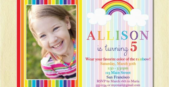 5 Year Old Birthday Invitation Template 5 Years Old Birthday Invitations Wording Free Invitation