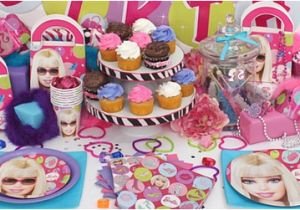 5 Year Old Birthday Party Decorations Barbie Ideas For A Girl