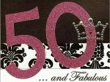 50 and Fabulous Birthday Cards 50 and Fabulous Birthday Card