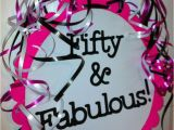 50 and Fabulous Birthday Decorations 50th Birthday Decorations Giant Sign Party Decorations 50