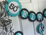 50 and Fabulous Birthday Decorations 50th Birthday Decorations Party Banner 50 Fabulous