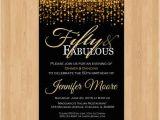 50 and Fabulous Birthday Invitations 50th Birthday Invitation for Women 50 and Fabulous