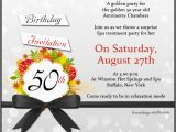 50 Birthday Invitation Cards 50th Birthday Invitation Wording Samples Wordings and