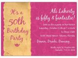 50 Birthday Invitation Sayings Quotes for 50th Party Invitation Quotesgram