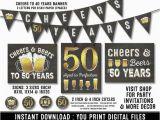 50 Year Birthday Party Ideas for Him 50th Birthday Party Decorations 50th Birthday Party for
