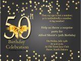 50 Year Old Birthday Party Invitations 50th Birthday Invitation Wording orderecigsjuice Info