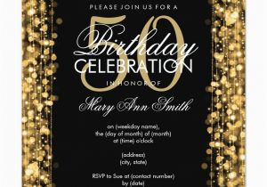 50 Years Birthday Invitation Card 14 Invitations Designs Free Sample