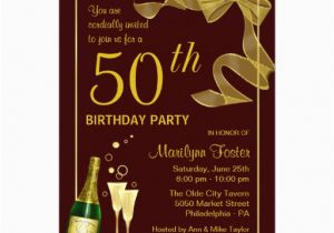 50 Years Birthday Invitation Card 50th Birthday Invitations and Wording Ideas Free