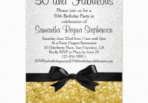 50 Years Birthday Invitation Card Free 50th Birthday Party Invitations Templates Free