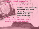 50s Birthday Invitations Kayleigh 39 S Kreations 50 39 S theme Birthday Invitation
