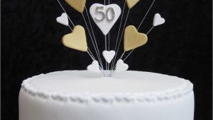 50th Birthday Cake toppers Decorations Happy 50th Birthday Cake topper Decoration Images Ideas