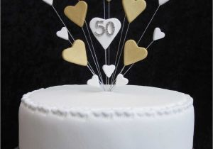 50th Birthday Cake Toppers Decorations Happy Topper Decoration Images Ideas