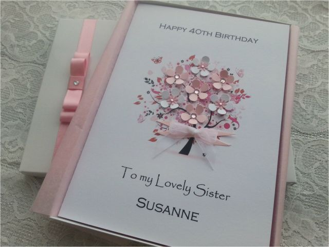 50th Birthday Card For Daughter Handmade Personalised