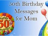 50th Birthday Cards for Mom 50th Birthday Messages for Mom Birthday Mum Messages