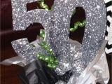 50th Birthday Centerpiece Decorations Sparkly Silver 50th Birthday Party Centerpiece Follow Us