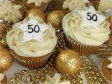 50th Birthday Cupcake Decorations Festive Cupcakes