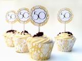 50th Birthday Cupcake Decorations Instant Download 50th Anniversary Diy Cupcake Decorations