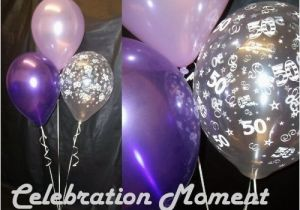 50th Birthday Decorations Purple Party Balloon Decoration Lilac Ebay