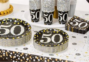 50th Birthday Decorations To Make Sparkling Celebration Party Supplies