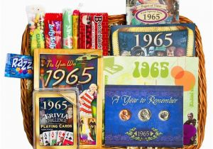 50th Birthday Gift Baskets For Her Basket 1965 Or 1966