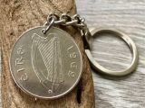 50th Birthday Gifts for Him Australia 50th Birthday Gift 1969 Irish Coin Keyring Salmon Keychain