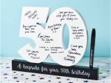 50th Birthday Gifts for Him Experience 50th Birthday Signature Numbers Find Me A Gift