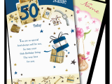 50th Birthday Gifts for Him Experience Personalised Birthday Cards for Adults the Gift Experience