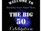 50th Birthday Gifts for Him Nz Happy 50th Birthday Posters Prints Zazzle Uk