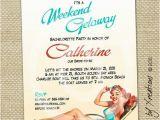 50th Birthday Girlfriend Getaways Weekend Getaway Invitation Girls Weekend Fund Ideas In