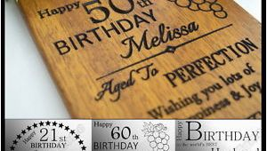 50th Birthday Ideas for Husband Uk Personalised Birthday Card 21 30th 40th 50th 60th Gift for