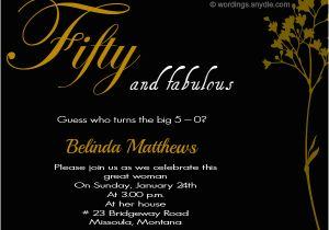50th Birthday Invitation Quotes 50th Birthday Invitation Wording