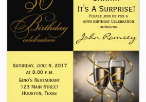 50th Birthday Invitation Quotes Surprise Party Invitations Wording Free