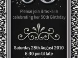 50th Birthday Invitations Free Download 50th Birthday Invitations Templates Free Download Uk